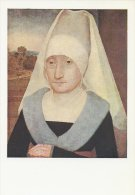 Hans Memling  Head Of An Old Woman.   A -2347 - Paintings