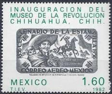 1982 MEXIQUE 997** Musée Révolution, Timbre Sur Timbre - Mexico