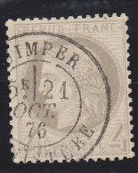 N°52 O Cad., TB - 1871-1875 Cérès