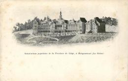 BELGIQUE - LIEGE - STOUMONT - LA GLEIZE - BORGOUMONT - Sanatorium Populaire De La Province De Liege. - Stoumont