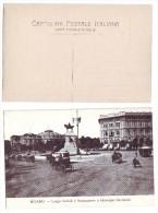 Milano Piazza Cairoli E Monumento A Garibaldi - NON Viaggiata (A) Anni '20 - Milano