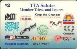Prepaid: ACMI - TTA Salutes Member Telcos And Issuers - Vereinigte Staaten