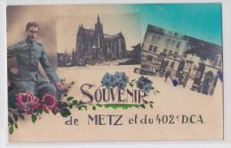 METZ - Souvenir Du 402e DCA - Metz