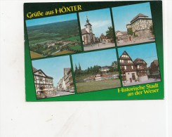 BT14179 Hoxter An Der Weser  2 Scans - Hoexter
