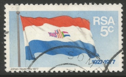 South Africa. 1977 50th Anniv Of National Flag. 5c Used - South Africa (1961-...)