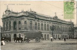 ANVERS ANTWERPEN Théâtre National Charrette Sur La Place - Belgique