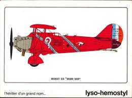 """Breguet XIX """" Grand Raid """"  - Publicité """" Lyso-Hemostyl """" - Réservé Au Corps Médical - Avions"""