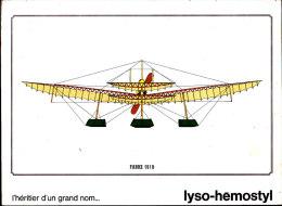 """Savoia S 16 Ter   - Publicité """" Lyso-Hemostyl """" - Réservé Au Corps Médical - Airplanes"""