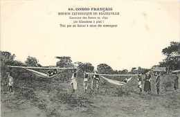 Mai13 1732 : Brazzaville  -  Mission Catholique  -  Caravane Des Soeurs En 1892 - Kinshasa - Léopoldville