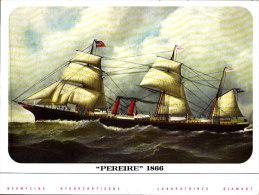 """"""" Pereire """" 1866   - Publicité Des Laboratoires Diamant - Réservé Au Corps Médical - Bateaux"""