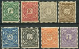 Mauritanie (1914) Taxe N 17 à 24 * (charniere)