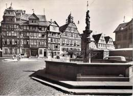 Allemagne > Hesse > BUTZBACH  -Marktplatz (cycliste Vélo-Editions : Henkelmann 1034 H 63)*PRIX FIXE - Butzbach