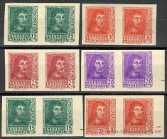 ES841S-L2144.España.Spain . Espagne.. FERNANDO EL CATOLICO.1938.(Ed 841/4+AS**).PEREJAS..MARQ UILLADOS.LUJO - 1931-Hoy: 2ª República - ... Juan Carlos I