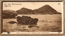 Chromos Réf. C443. Chocolat Suchard - Collection Coloniale 27 - Les Iles Mansouria Algérie - Suchard
