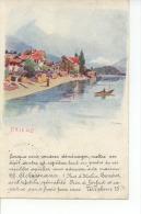 Brienz Carte Publicitaire Ch. Ackermann - BE Berne