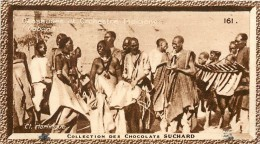 Chromos Réf. C465. Chocolat Suchard - Collection Coloniale 161 - Danseuses Et Orchestre Indigènes - Gabon - Suchard