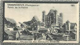 Chromos Réf. C472. Chocolat Suchard - Collection Coloniale 182 - Tananarive, Madagascar - Palais De La Reine - Suchard