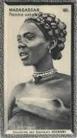 Chromos Réf. C474. Chocolat Suchard - Collection Coloniale 181 - Femme Sakalave - Suchard