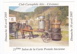 Club Cartophile ALES   ALAMBIC Ambulant De LA FAVEDE - Alès