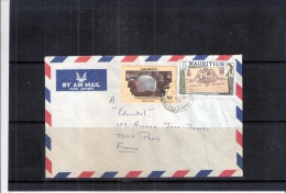 Cover From Mauritius To France (to See) - Maurice (1968-...)