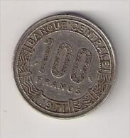 Gabon 100 Francs 1971. - Gabon