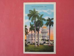 Cuba  Havana Capitol  1936 Cancel        Ref  987 - Cuba