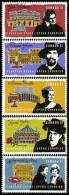 CANADA 2006 - Opéra Canadien, Grands Chanteurs D'opéra - 5 Val Neufs // Mnh - 1952-.... Règne D'Elizabeth II