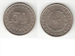 *paraguay 50 Centimos 1925  Km 12  Xf+  !!! - Paraguay