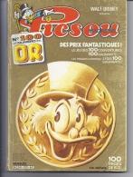 PICSOU MAGAZINE Mensuel (  Walt Disney  )  Oncle Picsou En Or  Numéro N° 100 - Picsou Magazine