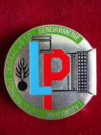 INSIGNE GENDARMERIE LABORATOIRE PHOTOGRAPHIQUE DE LA GENDARMERIE - Police