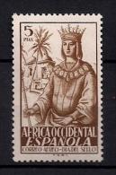 AFRICA OCCIDENTAL, EDIFIL 2**, DIA DEL SELLO COLONIAL, ISABEL LA CATÓLICA - Guinea Española