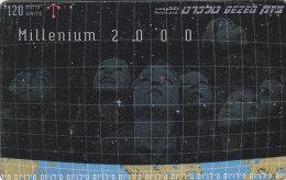 Israel, BZ-258, Millenium, 2 Scans. - Israel