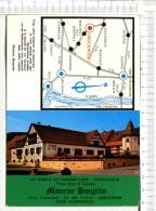 Plaquette Publicitaire   :  Materne  HAEGELIN  -   Vins Fins D Alsace  -  En Direct  Propriétaire - Viticulteur - Advertising (Porcelain) Signs