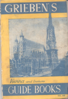 GRIEBEN'S VIENNA  HEIDELBERG  VOL. 199 150 PAGES WIHOUT COLOR MAP VERLAG CARL UEBERREUTER - Books, Magazines, Comics