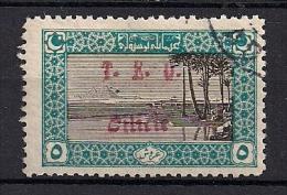CILICIA, YVERT Nº 73 CANCELADO, AÑO 1919, SELLOS DE TURQUIA SOBRECARGADOS
