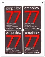 Nederland Stikkers 1977 Amphilex Philatelic World Exhibition 26 May - 5 June - Wereldtentoonstellingen