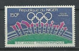 "Niger Aerien YT 149 (PA) "" JO Munich "" 1971 Neuf** - Niger (1960-...)"