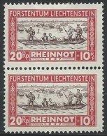 LIECHTENSTEIN - 20 R. Rheinnot Neuf En Paire - Liechtenstein
