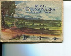 (postcard Booklet 26) Australia - MVC Coonawarra Murray River Paddle Stramer - Non Classés