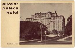 Vintage Postcard, Alvear Palace Hotel, Buenos Aires, Brazil (ref.#-128se) - Argentine