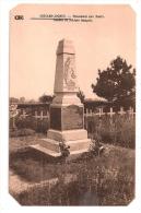 COIZARD-JOCHES - Monument Aux Morts. Tombes De Soldats Français - Carte Peu Courante - En L´état ( Coins Coupés) - Autres Communes