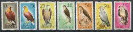 112 ALBANIE 1966 - Oiseaux De Proies Rapace - Neuf Sans Charniere (Yvert 948 54) - Albania