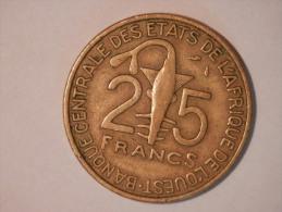 25 Francs 1981 - Sahara Occidental