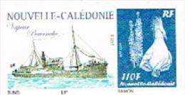 Nouvelle Caledonie Timbre Personnalise Prive M. Bunel Paquebot Navire Vapeur Pervenche Wallis Hebrides Neuf 2013 - Nouvelle-Calédonie
