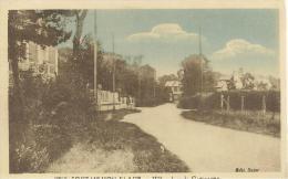FORT-MAHON-PLAGE - Villas Dans La Campagne - Carte Colorisée De 1933 - Fort Mahon