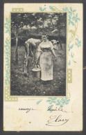 Agriculture - Fermière - Vache - Lait - Traite - 26043* - Breeding