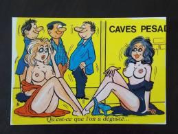 Carte Postale Glacé Illustrateur ALEXANDRE Série Dégustation 905/1  Etat Neuf - Alexandre