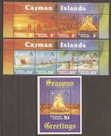 TURISMO - CAIMANES 1984 - Yvert #535/42+H16 - MNH ** - Vacaciones & Turismo