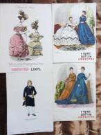 Costumes Dames   - Publicité Des Laboratoires Roussell - Réservé Au Corps Médical - Geschichte