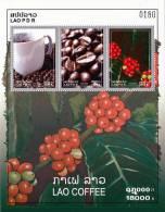 LAOS - 2008 - Mi BL. 205 - LAO COFFEE - SPECIAL OFFER 43% OFF - MNH ** - Laos